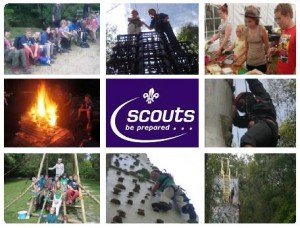Scouts Welcome Banner 2012
